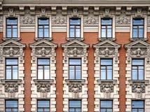 Fassade des Hotel-Staatsangehörigen Lizenzfreie Stockbilder