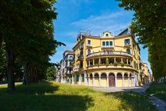 Fassade des italienischen Hauses in Venedig Lizenzfreies Stockbild
