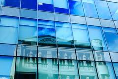 Fassade des modernen Bürohauses Lizenzfreie Stockfotos