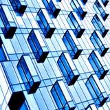Fassade des modernen Gebäudes Stockfoto
