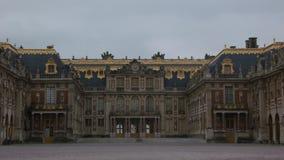 Fassade des Palastes von Versailles, in Frankreich lizenzfreie stockfotos