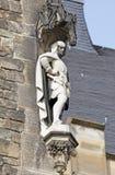 Fassade des Rathauses in Aachen, Deutschland Lizenzfreies Stockbild