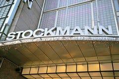 Fassade des Stockmann-Einkaufszentrums Stockbild