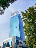 Fassade des Wolkenkratzers lizenzfreie stockfotos