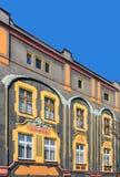 Fassade einer Art Noveau-Wohnung Lizenzfreie Stockfotografie
