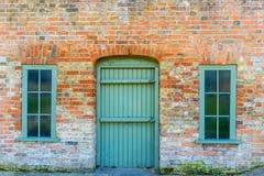 Fassade eines alten englischen Hauses Stockfotografie