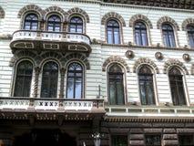 Fassade eines alten Gebäudes Lizenzfreie Stockbilder
