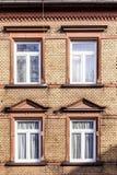 Fassade eines alten Hauses Lizenzfreies Stockfoto