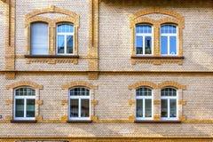 Fassade eines alten Hauses Stockbilder