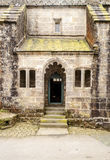 Fassade eines alten Hauses Stockbild