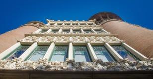 Fassade eines Gebäudes Lizenzfreie Stockbilder