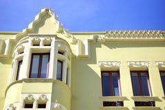Fassade eines Gebäudes 12 Stockbild