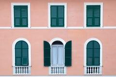 Fassade eines Hauses Lizenzfreie Stockbilder
