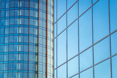Fassade eines modernen Gebäudes Stockfoto