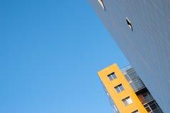 Fassade eines modernen Wohngebäudes Lizenzfreie Stockfotografie