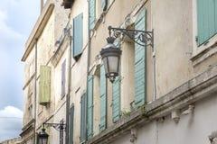 Fassade eines Wohnheims, Frankreich stockfoto