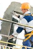 Fassade End- und Surfacerarbeiten Stockfotografie
