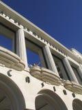 Fassade La Mediterranee Hotels des Lepalais de Lizenzfreie Stockfotografie