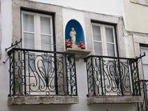 Fassade in Lissabon, Portugal. Stockfoto
