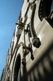 Fassade in Mexiko City Stockbild