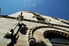 Fassade in Mexiko City Lizenzfreies Stockfoto