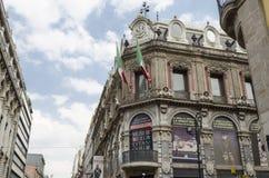 Fassade Museo Del Estanquillo Mexiko City Lizenzfreies Stockbild