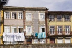 Fassade Porto Portugal lizenzfreies stockfoto