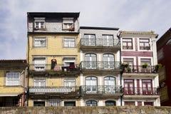 Fassade Porto Portugal stockbilder
