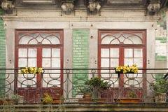 Fassade Porto Portugal lizenzfreie stockbilder