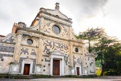 Fassade Praglia Abbey Euganean Hills - Auflage Abbazia di Praglia stockfotos
