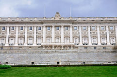 Fassade Royal Palaces, Madrid Stockfoto