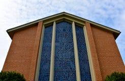 Fassade von Baptist Church lizenzfreie stockfotografie