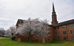 Fassade von Baptist Church stockfotografie