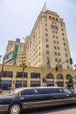 Fassade von berühmtem historischem Roosevelt Hotel lizenzfreie stockfotos