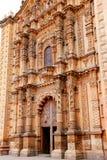 Fassade von church Del Carmen VI lizenzfreie stockfotografie