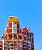 Fassade von Gebäuden Stockbild