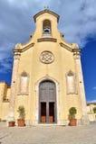 Fassade von Kirche Sacro Cuore, Modica, Ragusa, Sizilien, Italien, Europa stockbilder