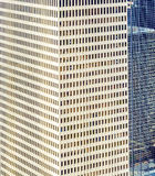 Fassade von modernen Gebäuden in im Stadtzentrum gelegenem Houston Lizenzfreies Stockbild