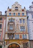 Fassade von Storch-Haus Stockbild