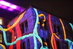 Fassade von Sydney Museum von zeitgenössischen Künsten stockbild