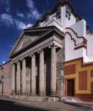 Fassade von Templo de Teresitas Stockfotografie