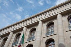 Fassade von Zentralbank - Neapel - Italien Stockbild