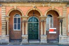 Fassade zum netten Haus Stockfoto