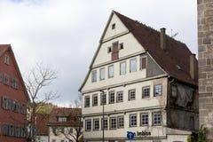 Fassaden Architektur und Fenster von Rahmengebäuden Lizenzfreie Stockfotografie