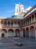 Fassaden der Bögen Stockfotos