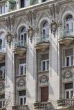 Fassaden von Belgrad - ehemaliges russisches Zar-Restaurant, das De errichtet Stockfoto