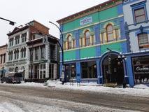 Fassaden von Erbgebäuden stockfoto