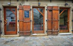 Altes jüdisches Caférestaurant Stockfotos