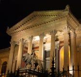 Fassadenmassimo-Theater in Palermo Stockfotos