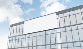 Fassadenwerbung Stockfotos